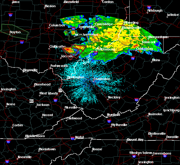 Radar Image for Severe Thunderstorms near Albany, OH at 5/28/2019 2:27 AM EDT