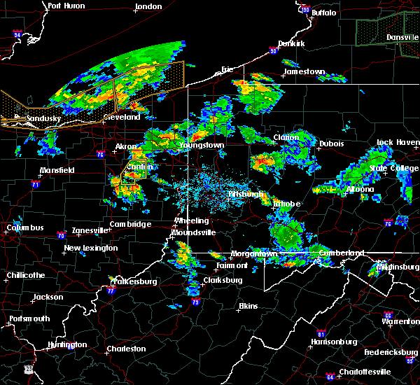 Radar Image for Severe Thunderstorms near Summitville, OH at 6/14/2015 5:40 PM EDT