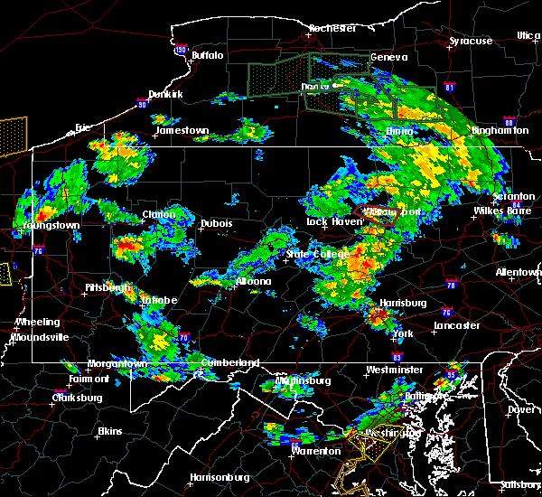 Radar Image for Severe Thunderstorms near Brickerville, PA at 6/14/2015 5:43 PM EDT