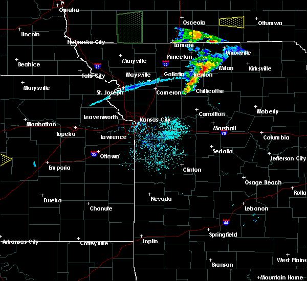 Radar Image for Severe Thunderstorms near Osgood, MO at 5/28/2019 10:36 AM CDT
