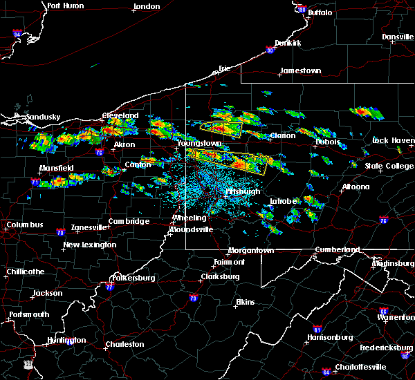 Radar Image for Severe Thunderstorms near Kittanning, PA at 5/28/2019 2:41 PM EDT