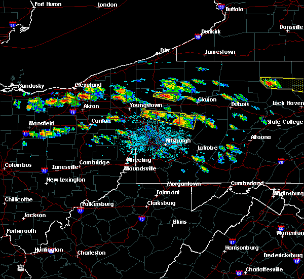 Radar Image for Severe Thunderstorms near Kittanning, PA at 5/28/2019 2:48 PM EDT