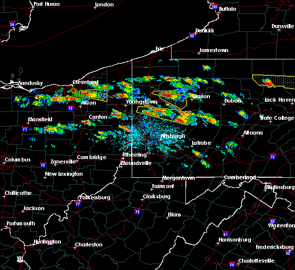 Radar Image for Severe Thunderstorms near Kittanning, PA at 5/28/2019 2:59 PM EDT