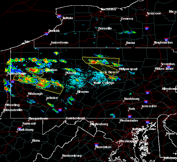 Radar Image for Severe Thunderstorms near Kittanning, PA at 5/28/2019 3:02 PM EDT