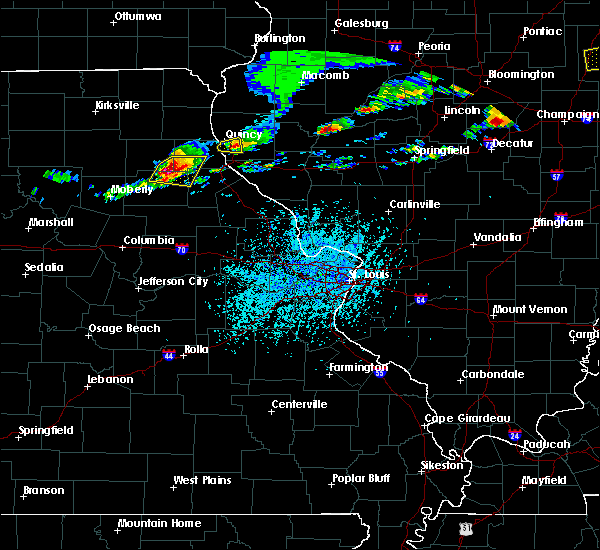 Radar Image for Severe Thunderstorms near Quincy, IL at 5/28/2019 2:13 PM CDT