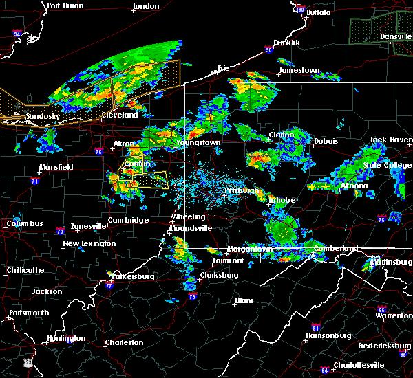 Radar Image for Severe Thunderstorms near Hanoverton, OH at 6/14/2015 5:55 PM EDT