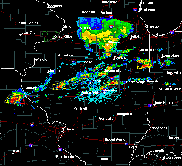 Radar Image for Severe Thunderstorms near Mansfield, IL at 5/28/2019 2:35 PM CDT