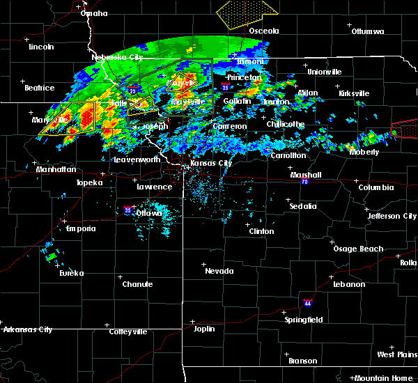 Radar Image for Severe Thunderstorms near Oregon, MO at 5/28/2019 2:42 PM CDT