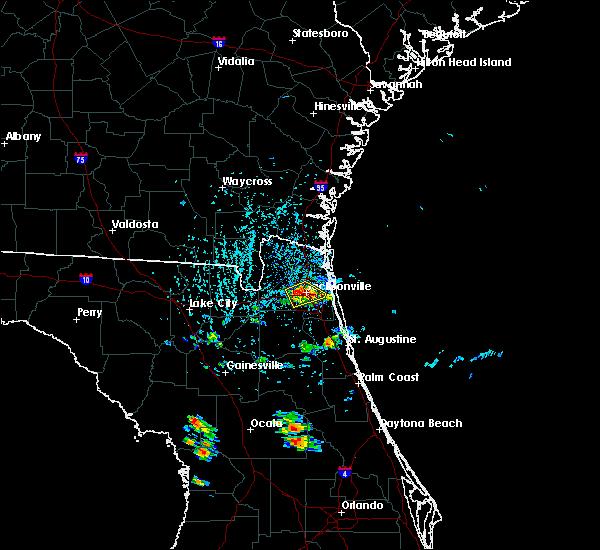 Radar Image for Severe Thunderstorms near Jacksonville, FL at 5/28/2019 4:04 PM EDT
