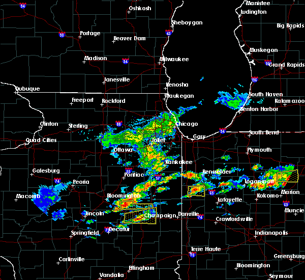 Radar Image for Severe Thunderstorms near Fowler, IN at 5/28/2019 4:05 PM EDT