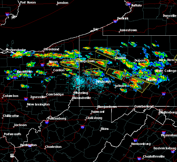 Radar Image for Severe Thunderstorms near Campbell, OH at 5/28/2019 4:07 PM EDT