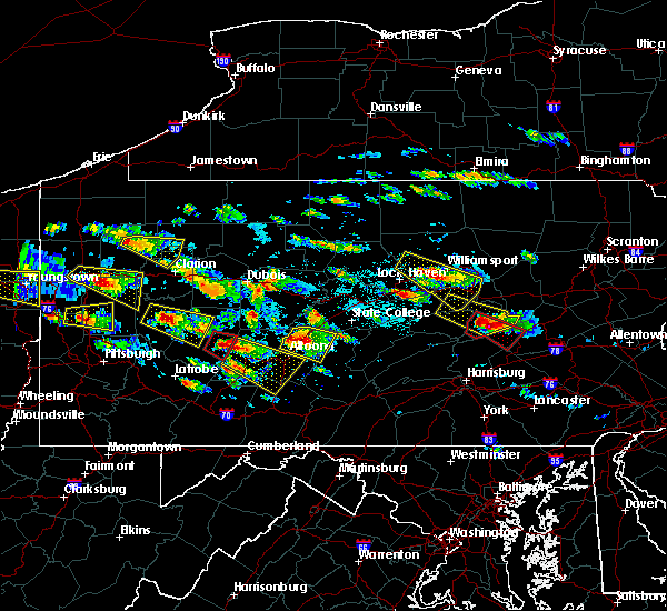 Radar Image for Severe Thunderstorms near Tyrone, PA at 5/28/2019 4:05 PM EDT