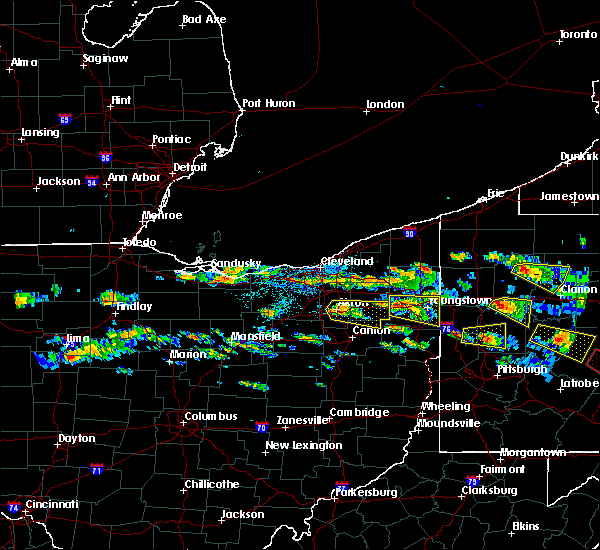 Radar Image for Severe Thunderstorms near Ravenna, OH at 5/28/2019 4:07 PM EDT
