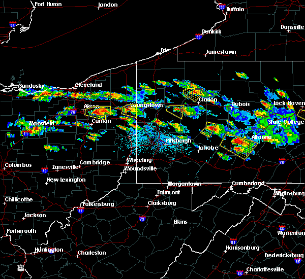 Radar Image for Severe Thunderstorms near Campbell, OH at 5/28/2019 4:24 PM EDT