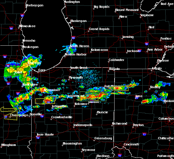 Radar Image for Severe Thunderstorms near New Bavaria, OH at 5/28/2019 4:27 PM EDT