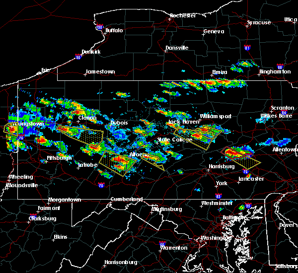 Radar Image for Severe Thunderstorms near Linntown, PA at 5/28/2019 4:31 PM EDT