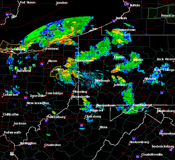 Radar Image for Severe Thunderstorms near Summitville, OH at 6/14/2015 6:11 PM EDT
