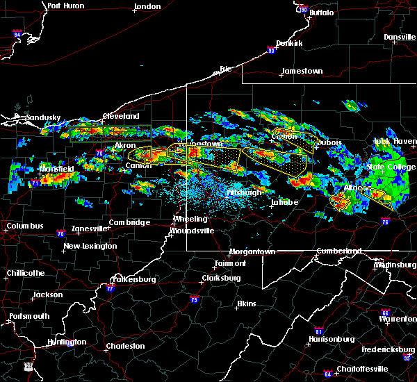 Radar Image for Severe Thunderstorms near Campbell, OH at 5/28/2019 4:39 PM EDT