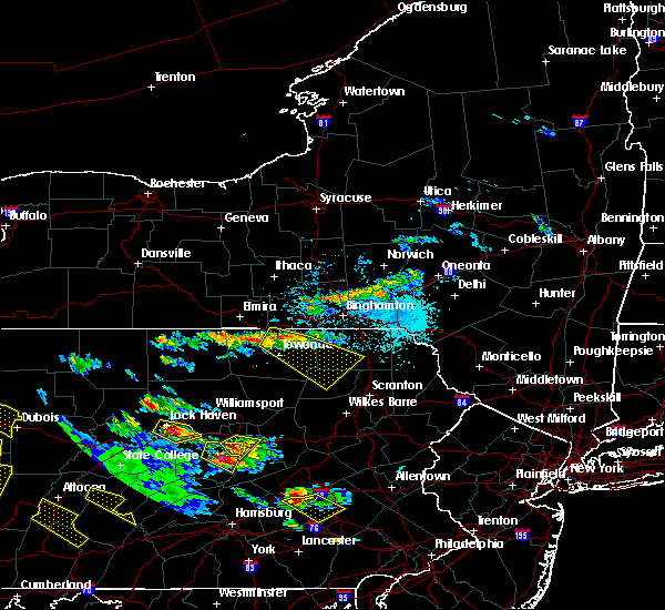 Radar Image for Severe Thunderstorms near Wyalusing, PA at 5/28/2019 4:47 PM EDT