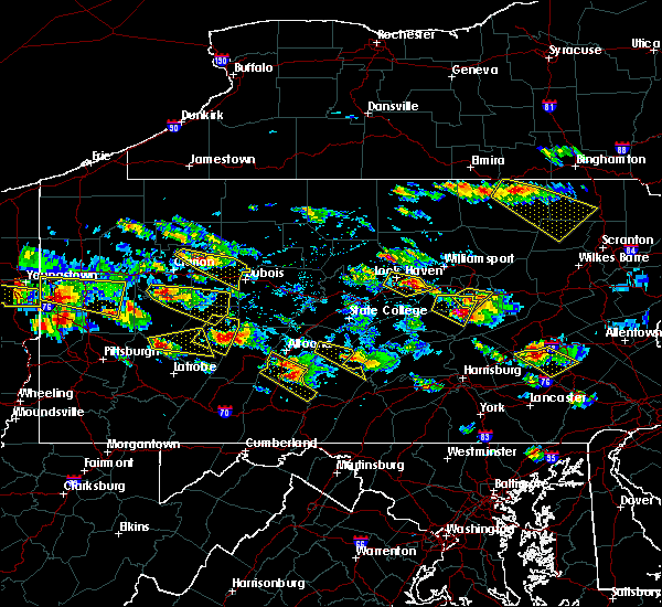 Radar Image for Severe Thunderstorms near East Freedom, PA at 5/28/2019 4:48 PM EDT
