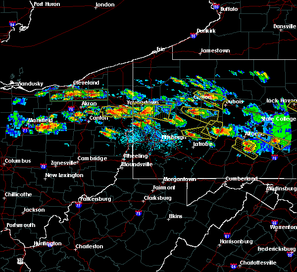 Radar Image for Severe Thunderstorms near Prospect, PA at 5/28/2019 4:51 PM EDT