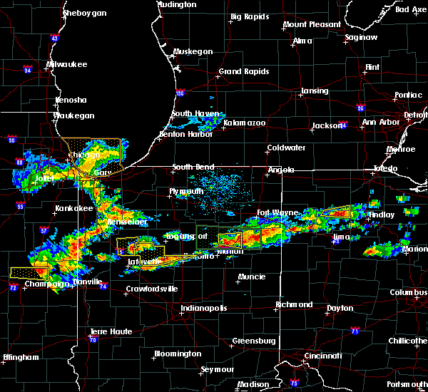 Radar Image for Severe Thunderstorms near Warren, IN at 5/28/2019 4:53 PM EDT