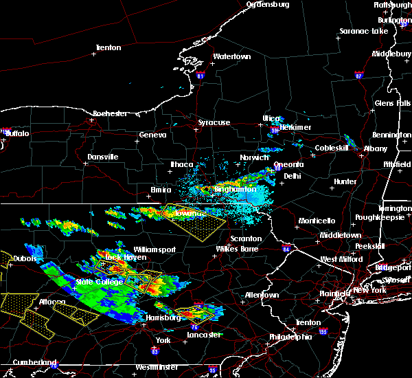 Radar Image for Severe Thunderstorms near Wyalusing, PA at 5/28/2019 5:00 PM EDT