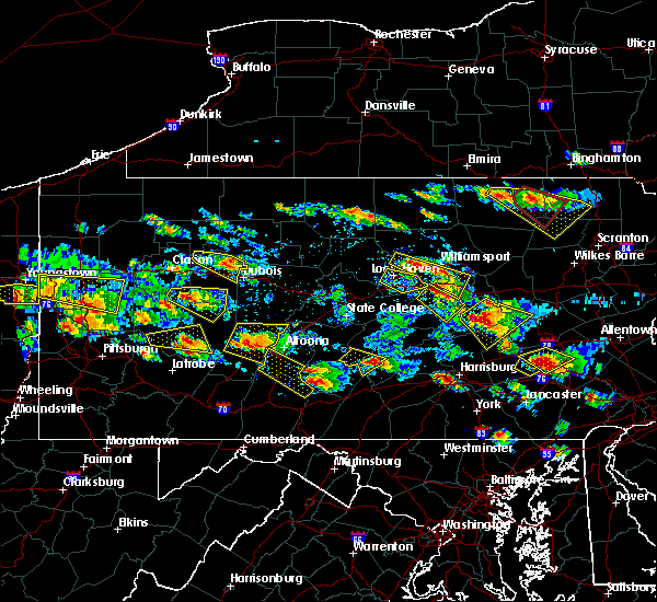 Radar Image for Severe Thunderstorms near Centralia, PA at 5/28/2019 5:09 PM EDT