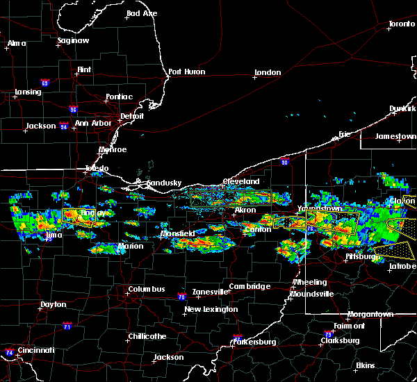 Radar Image for Severe Thunderstorms near McComb, OH at 5/28/2019 5:13 PM EDT