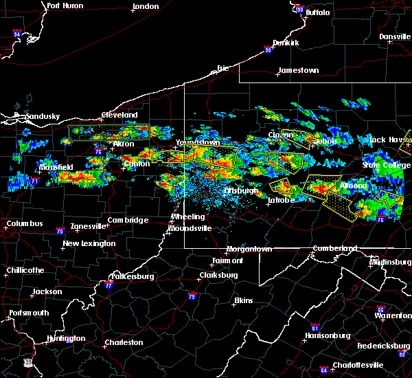 Radar Image for Severe Thunderstorms near Washingtonville, OH at 5/28/2019 5:15 PM EDT