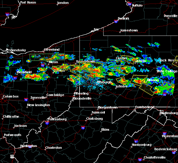 Radar Image for Severe Thunderstorms near Washingtonville, OH at 5/28/2019 5:16 PM EDT