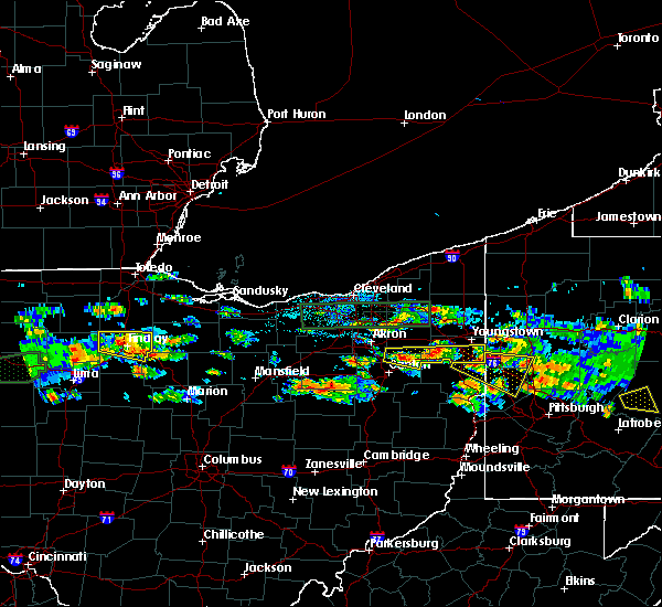 Radar Image for Severe Thunderstorms near Massillon, OH at 5/28/2019 5:20 PM EDT