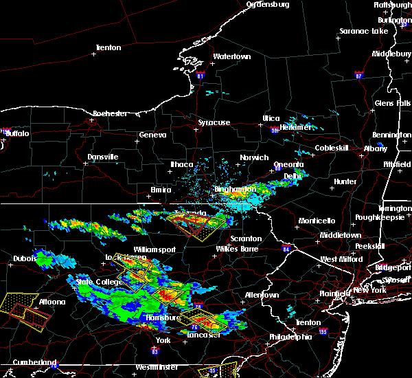 Radar Image for Severe Thunderstorms near Wyalusing, PA at 5/28/2019 5:24 PM EDT