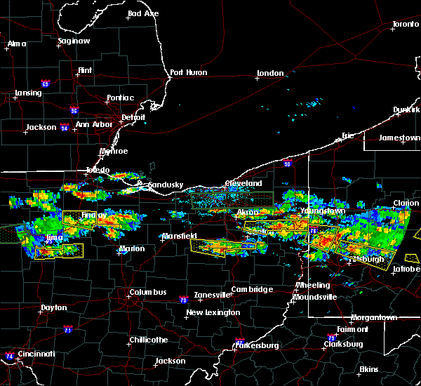 Radar Image for Severe Thunderstorms near McComb, OH at 5/28/2019 5:39 PM EDT