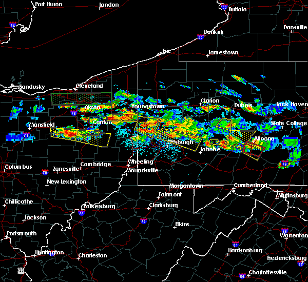 Radar Image for Severe Thunderstorms near Washingtonville, OH at 5/28/2019 5:41 PM EDT
