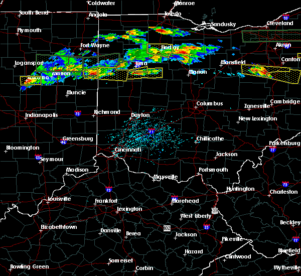 Radar Image for Severe Thunderstorms near Lima, OH at 5/28/2019 5:44 PM EDT