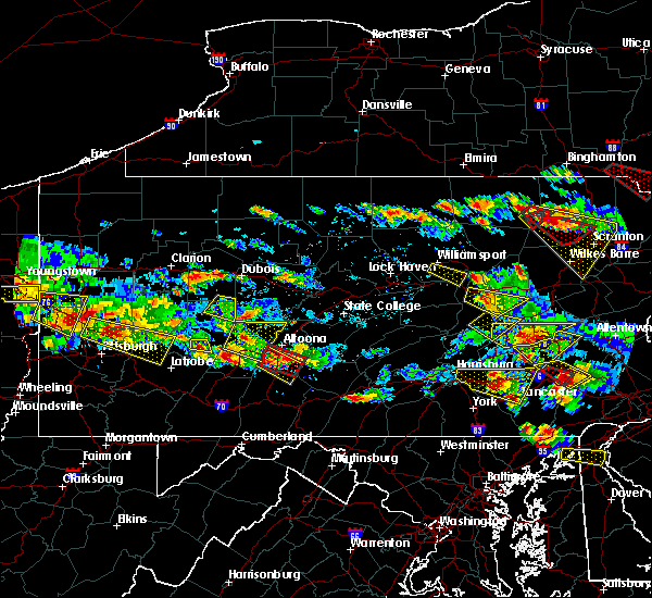 Radar Image for Severe Thunderstorms near Danville, PA at 5/28/2019 5:46 PM EDT