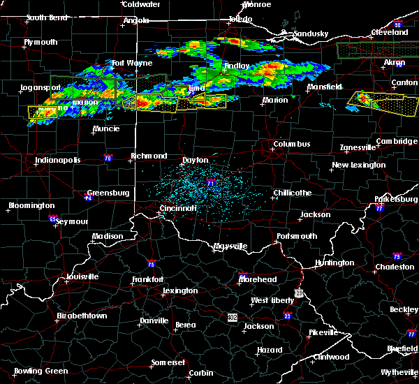 Radar Image for Severe Thunderstorms near Harrod, OH at 5/28/2019 5:55 PM EDT