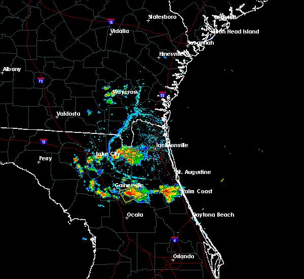 Radar Image for Severe Thunderstorms near Glen St. Mary, FL at 5/28/2019 5:59 PM EDT