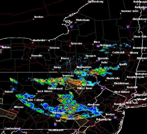 Radar Image for Severe Thunderstorms near West Falls, PA at 5/28/2019 6:00 PM EDT