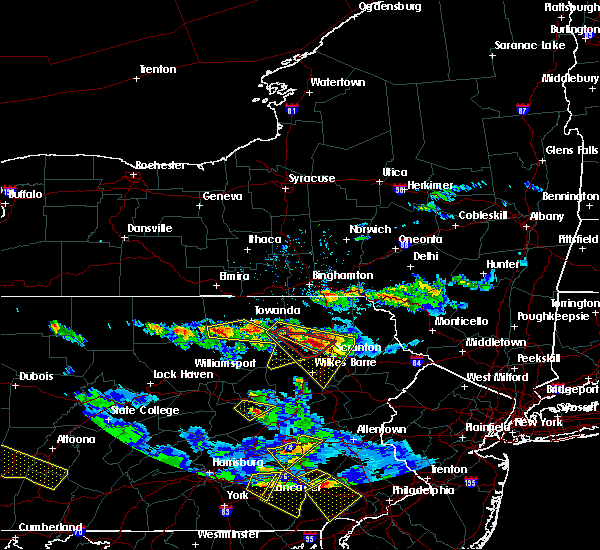 Radar Image for Severe Thunderstorms near Wyalusing, PA at 5/28/2019 6:04 PM EDT