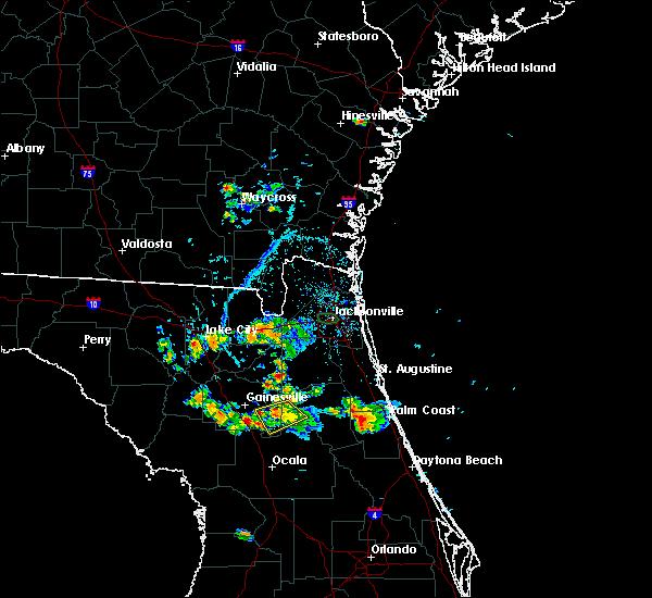 Radar Image for Severe Thunderstorms near Interlachen, FL at 5/28/2019 6:13 PM EDT