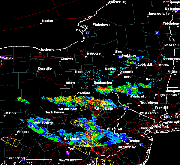 Radar Image for Severe Thunderstorms near West Falls, PA at 5/28/2019 6:16 PM EDT