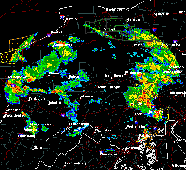 Radar Image for Severe Thunderstorms near Friedensburg, PA at 6/14/2015 6:52 PM EDT