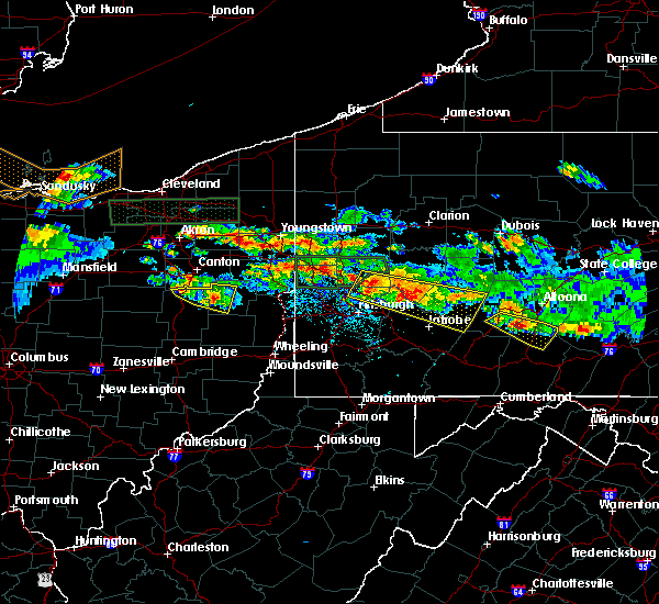 Radar Image for Severe Thunderstorms near Harwick, PA at 5/28/2019 6:18 PM EDT