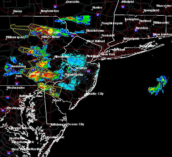 Radar Image for Severe Thunderstorms near Bally, PA at 5/28/2019 6:19 PM EDT