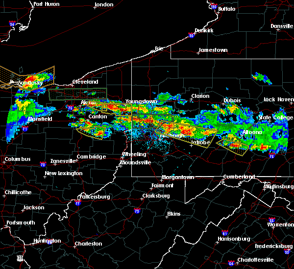 Radar Image for Severe Thunderstorms near Dover, OH at 5/28/2019 6:26 PM EDT