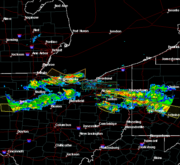 Radar Image for Severe Thunderstorms near Ravenna, OH at 5/28/2019 6:26 PM EDT