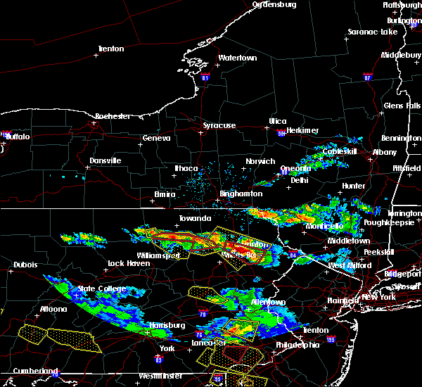 Radar Image for Severe Thunderstorms near Hometown, PA at 5/28/2019 6:40 PM EDT