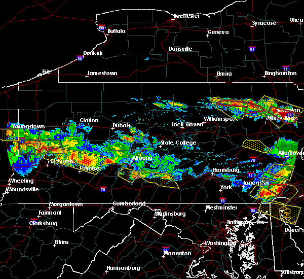 Radar Image for Severe Thunderstorms near Orrstown, PA at 5/28/2019 6:45 PM EDT